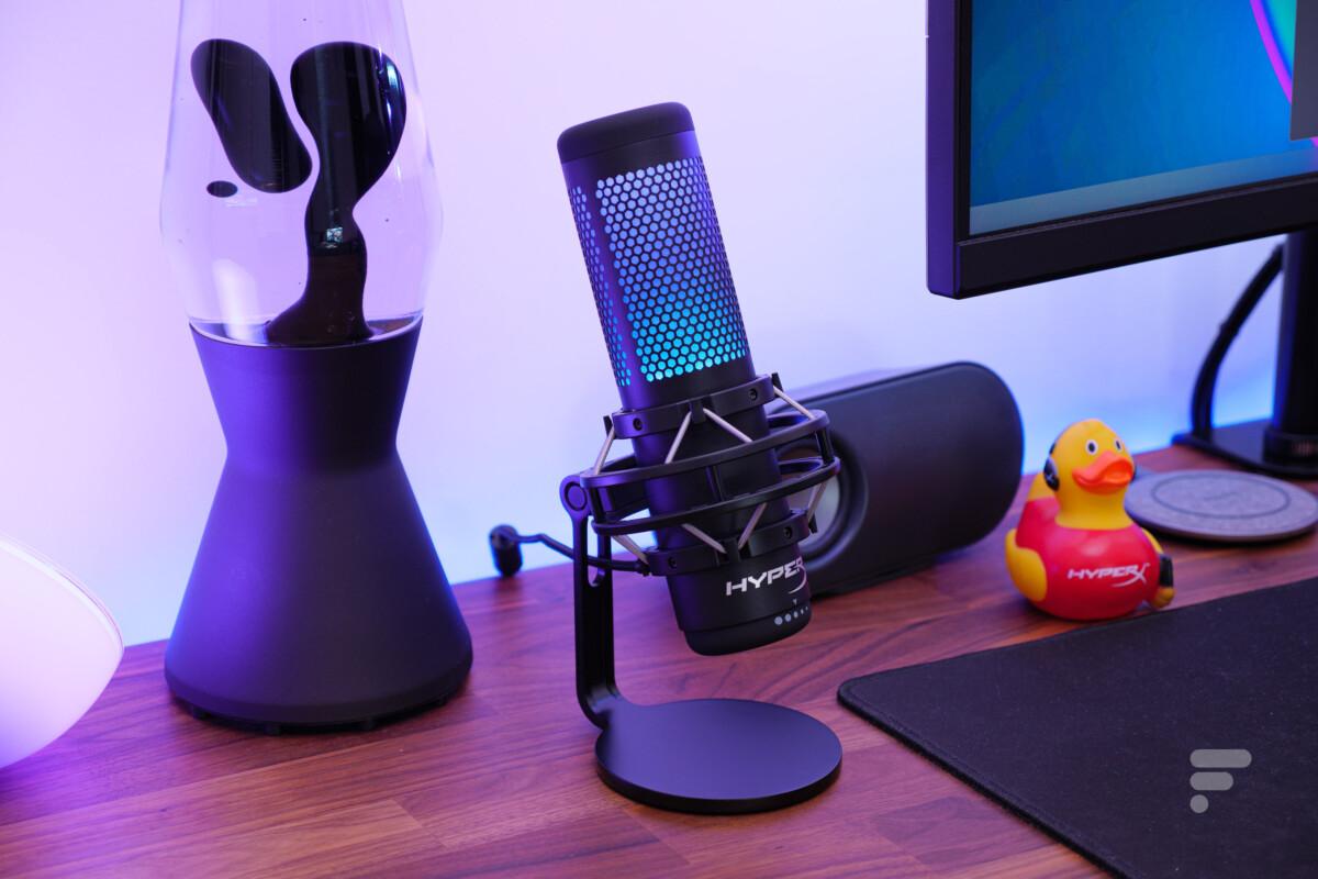 Le microphone QuadCast S d'HyperX