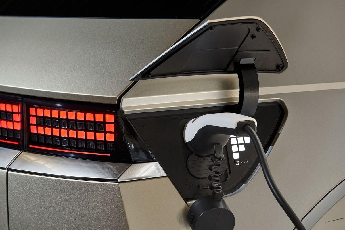 La recharge de la Hyundai Ioniq 5