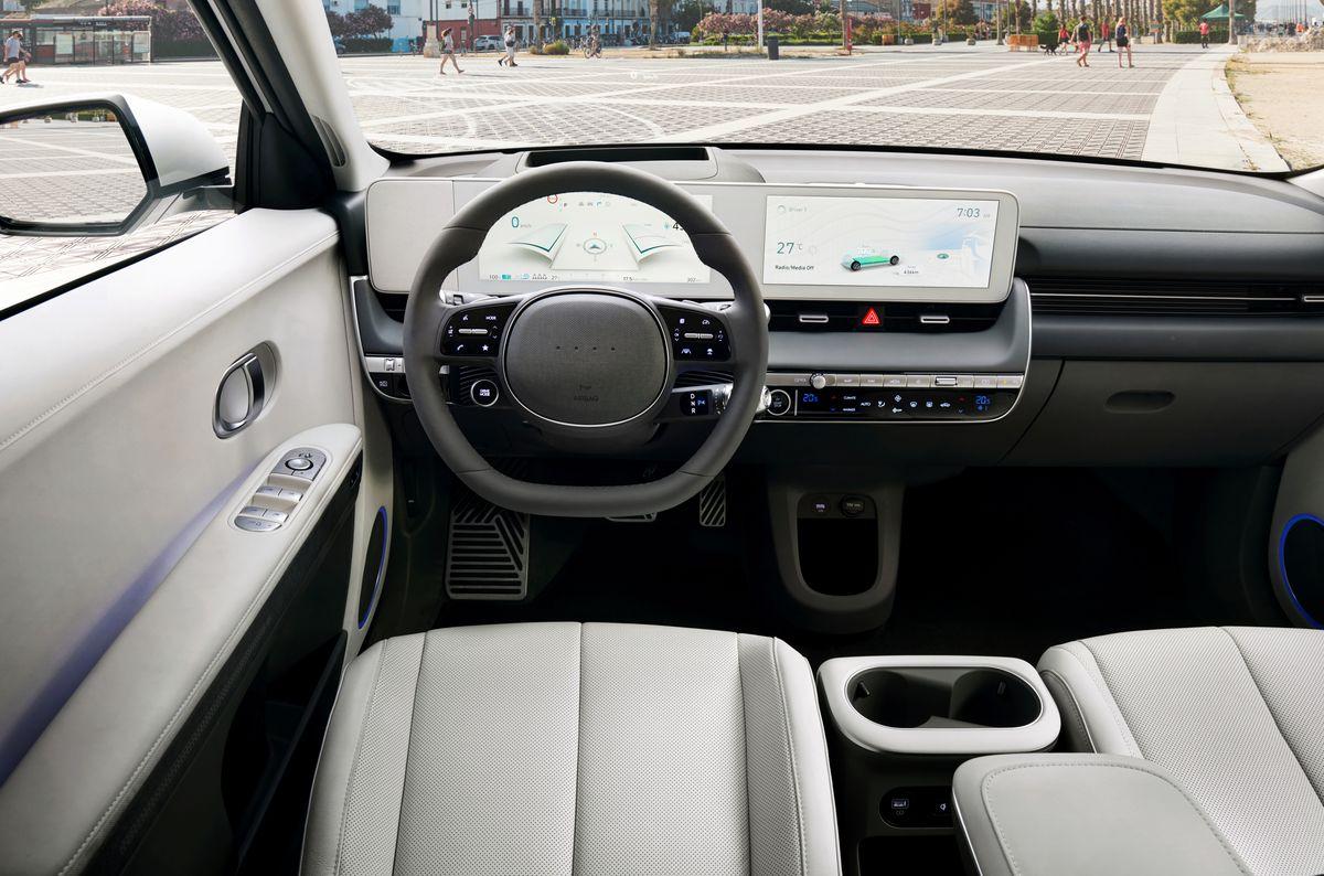 L'intérieur de la Hyundai Ioniq 5