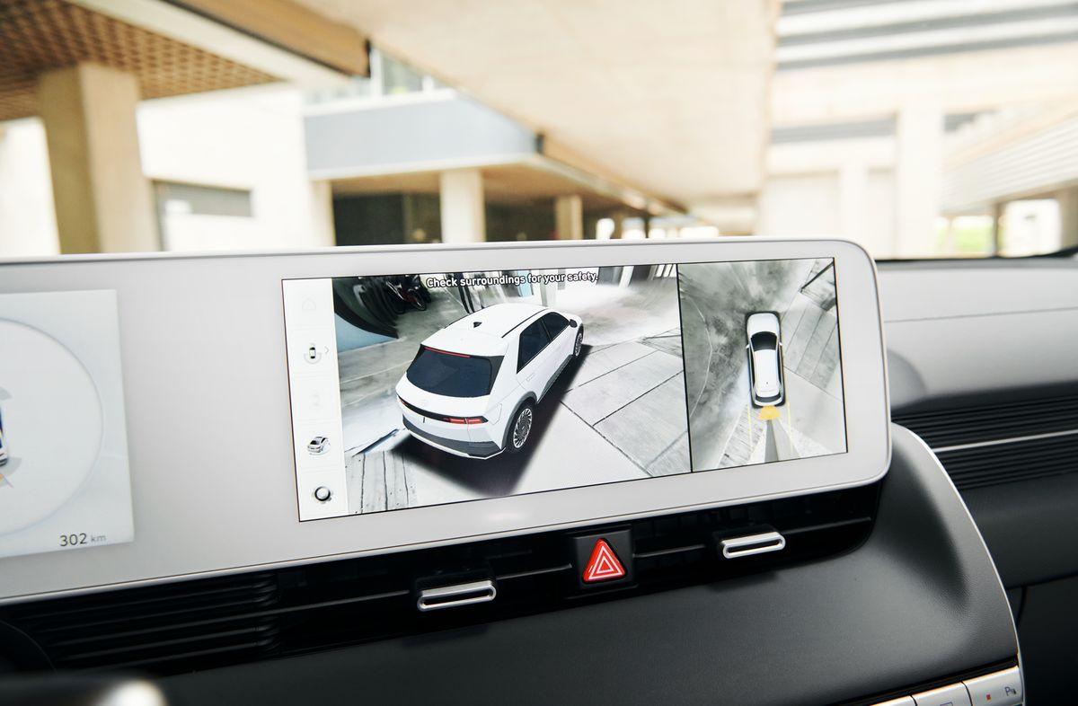 La vue à 360 degrés de la Hyundai Ioniq 5