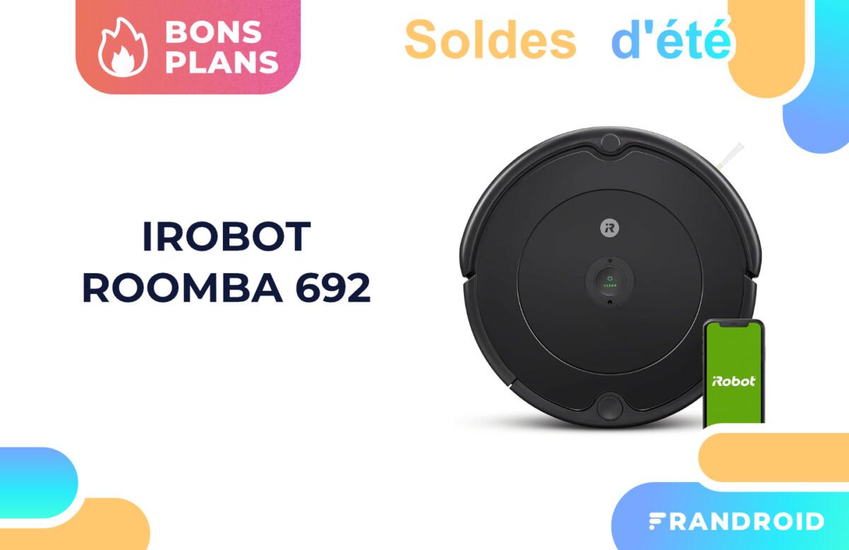 Le robot aspirateur iRobot Roomba 692 est de retour à -50 % pour la fin des soldes