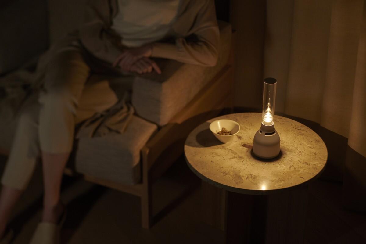 L'enceinte Glass Sound Speaker