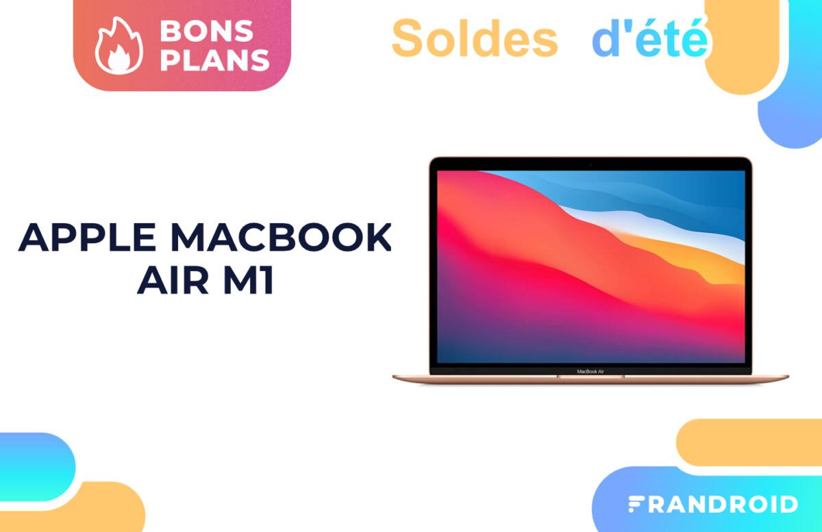 Soldes : un code promo fait chuter le prix du MacBook Air M1 à 979 euros