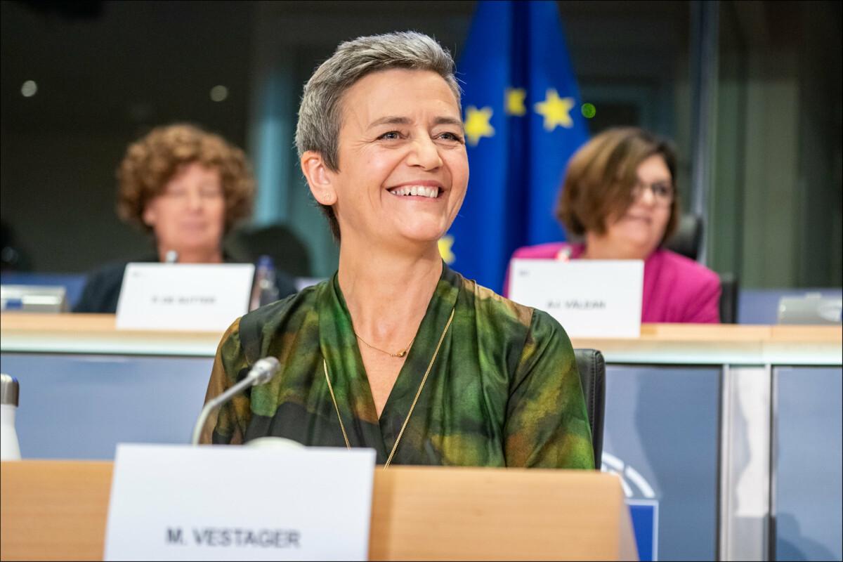 Margrethe Vestager, vice-présidente désignée pour une Europe adaptée à l'ère numérique. Source: CC BY 2.0/ Flickr European Parliament