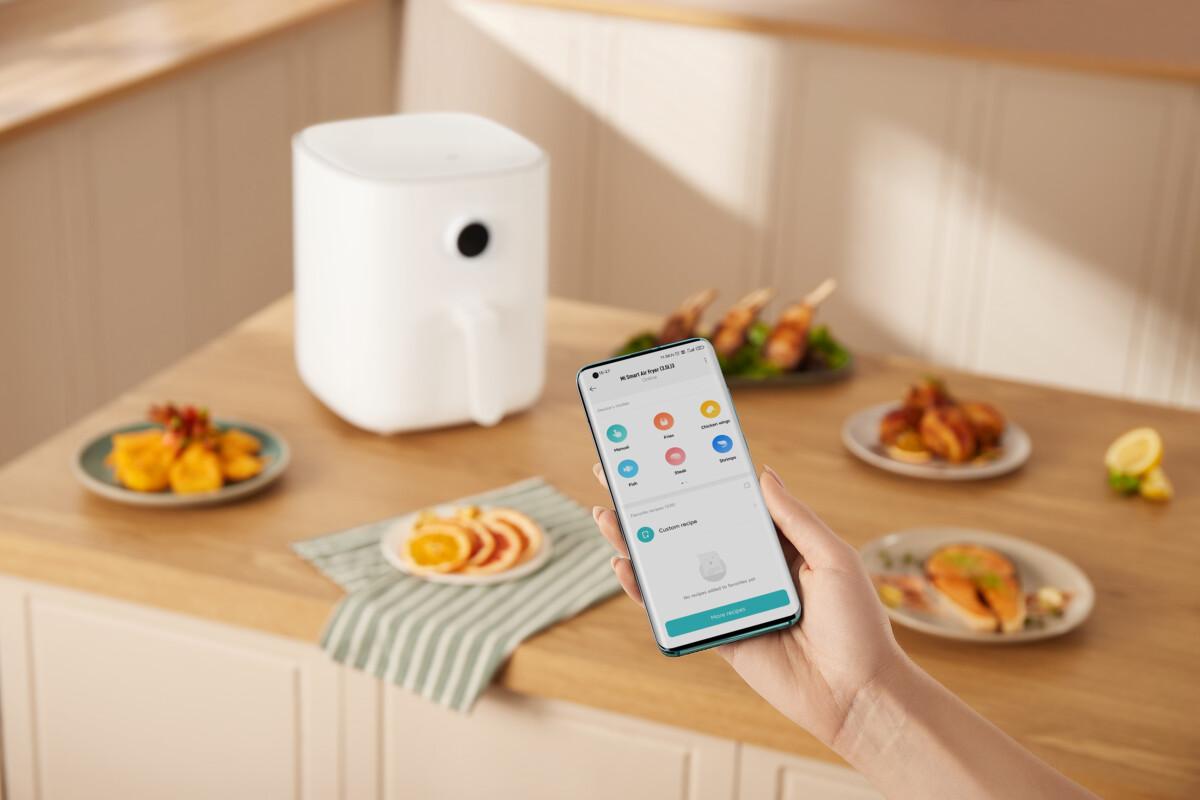 Le Mi Smart Air Fryer3.5L fonctionne avec l'app Xiaomi