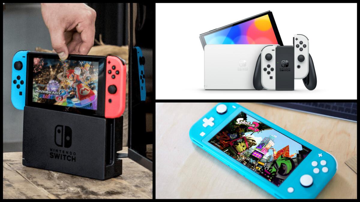 Nintendo a désormais trois Switch au catalogue