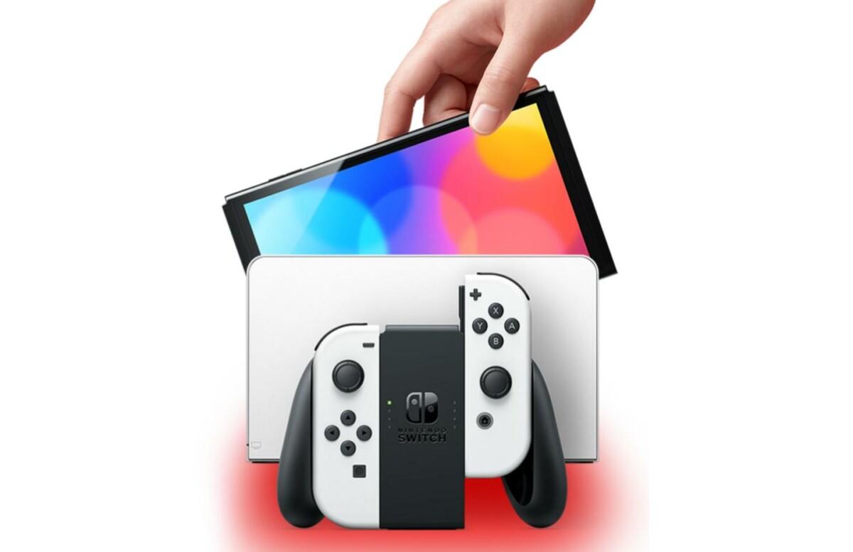 La Nintendo Switch OLED est disponible en précommande à partir de 349 euros
