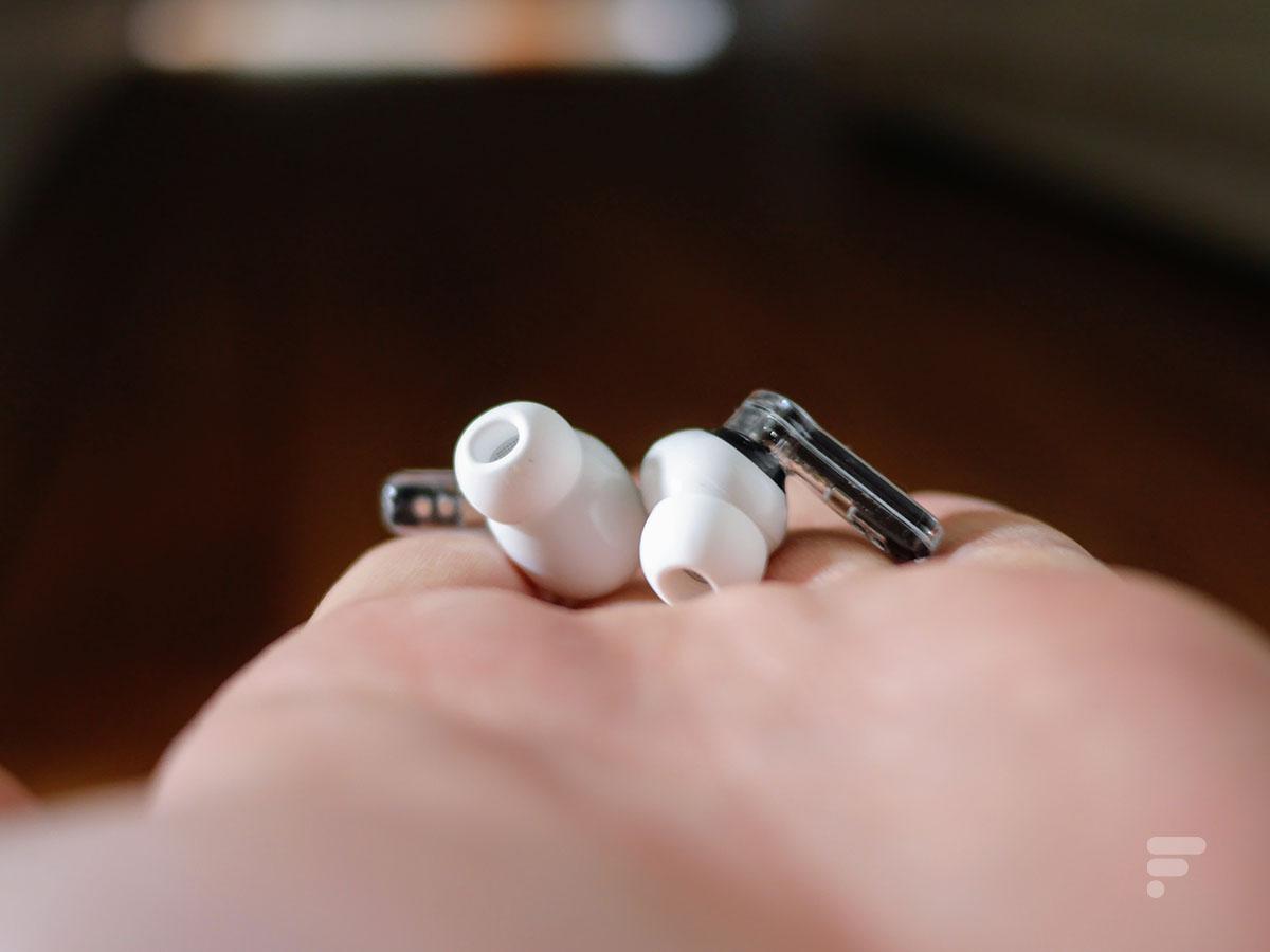 Les écouteurs Nothing Ear 1 proposent un son très équilibré