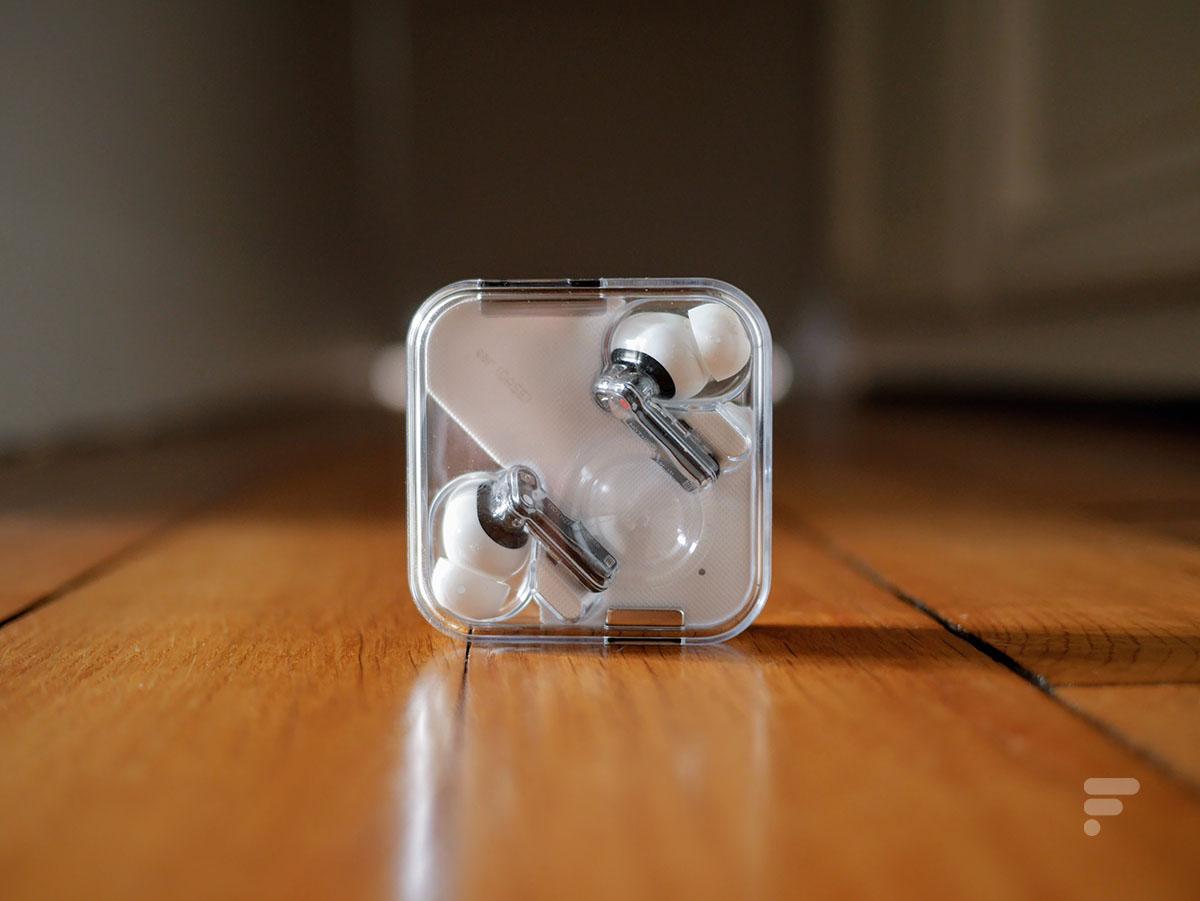 Les écouteurs Nothing Ear 1