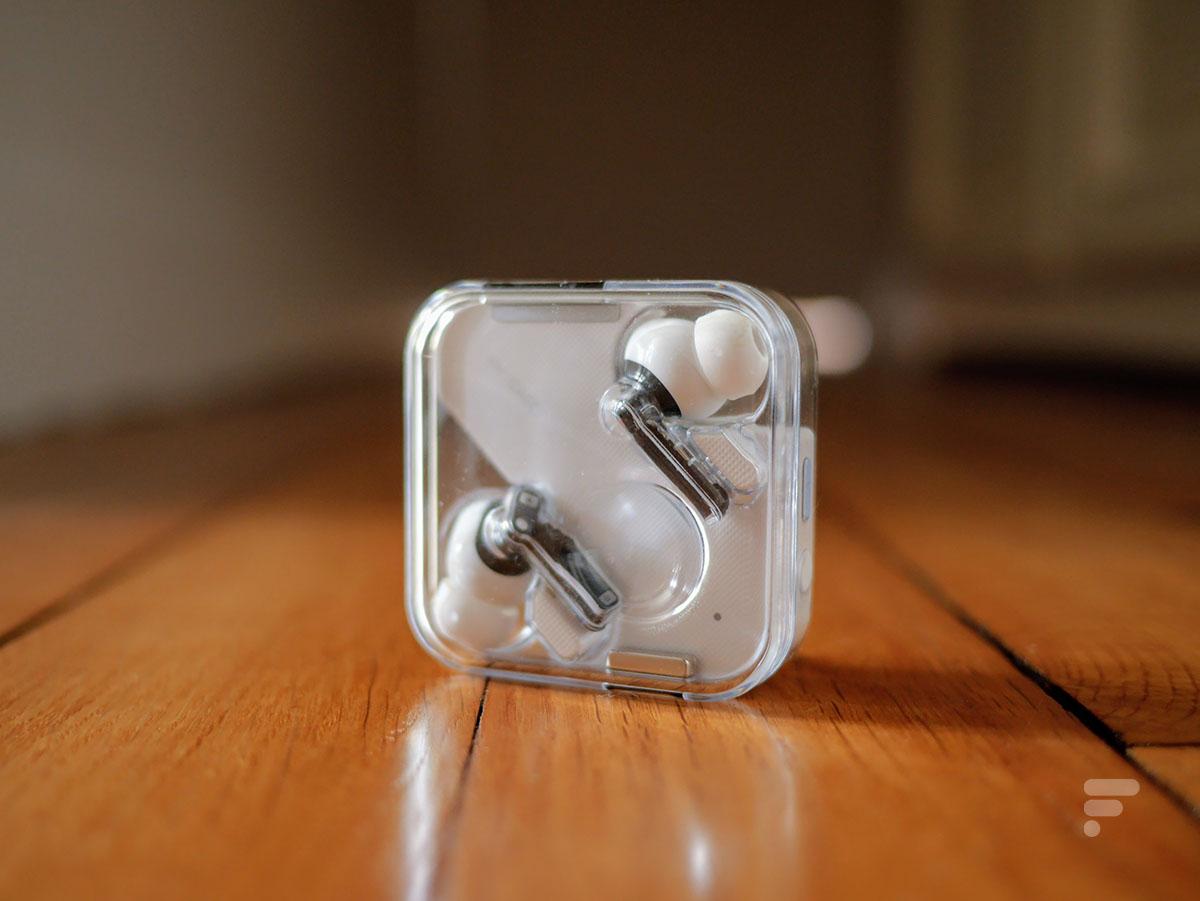 Le boîtier des Nothing Ear 1