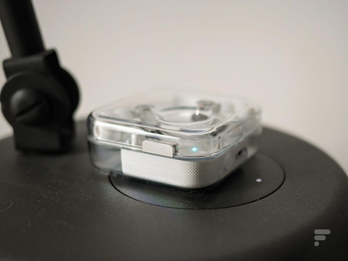 Les écouteurs Nothing Ear 1 sont compatibles avec la charge sans fil