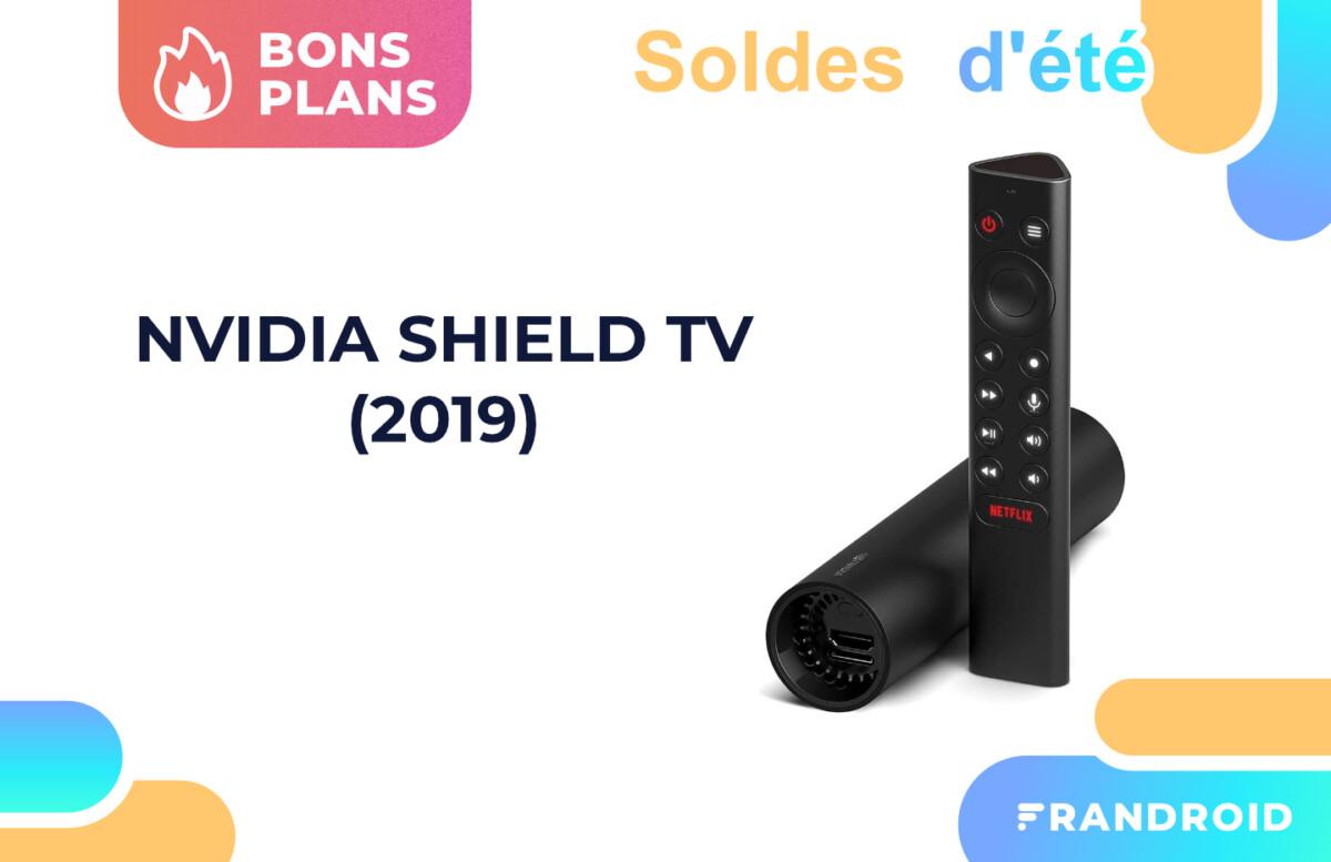 Amazon baisse le prix du boîtier Nvidia Shield TV pour les soldes
