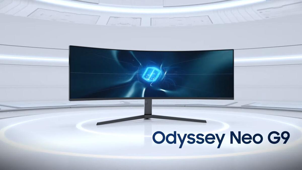 Samsung Odyssey Neo G9 : l'écran PC de 49 pouces arrive en France à 2199 euros