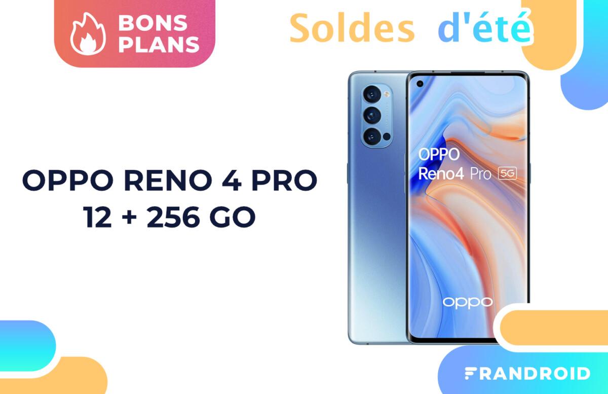 À -52 %, le prix du Oppo Reno 4 Pro devient plus acceptable pour les soldes