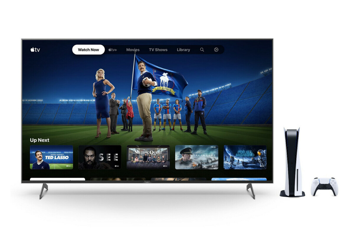 Si vous avez la PS5, vous bénéficiez gratuitement de six mois d'abonnement Apple TV+