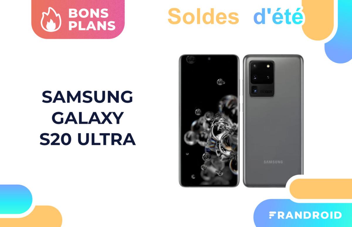 Le Samsung Galaxy S20 Ultra est soldé à moitié prix sur Cdiscount