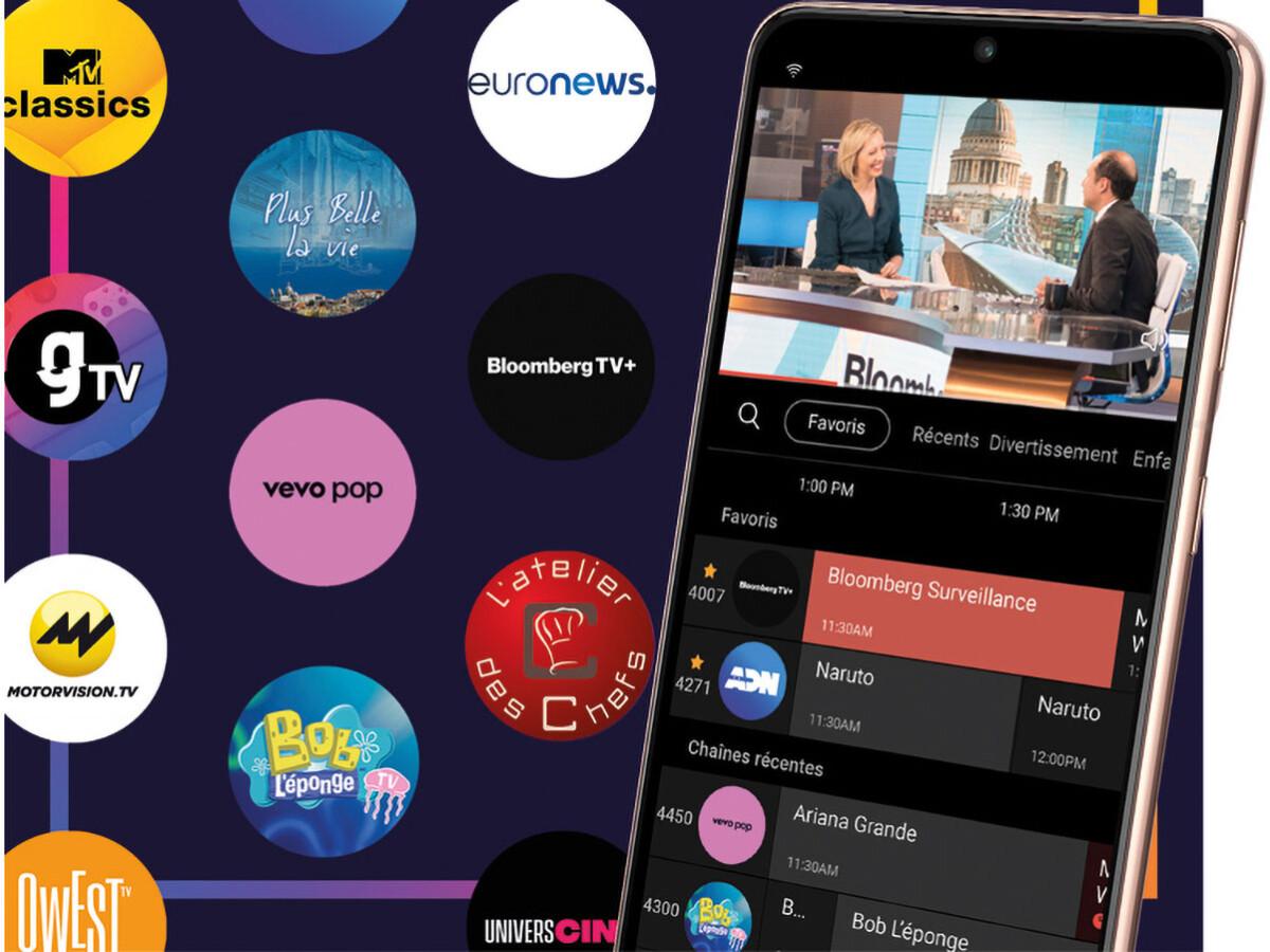 Aplicación Samsung TV Plus