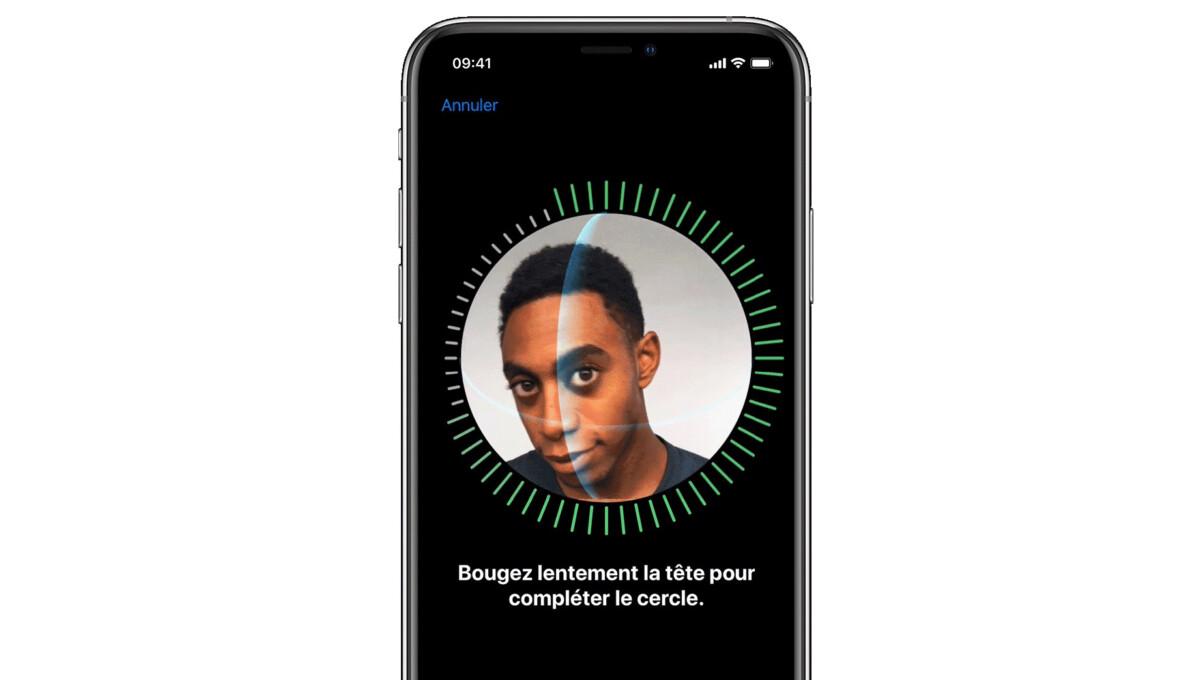 Un scan de votre tête façon Face ID pour valider votre identité