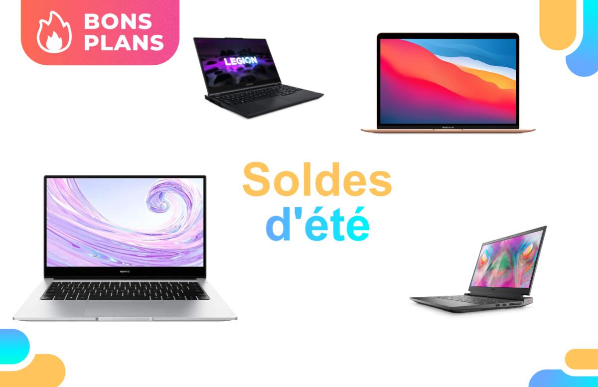 PC portables : notre sélection des 4 meilleurs deals pour les soldes d'été