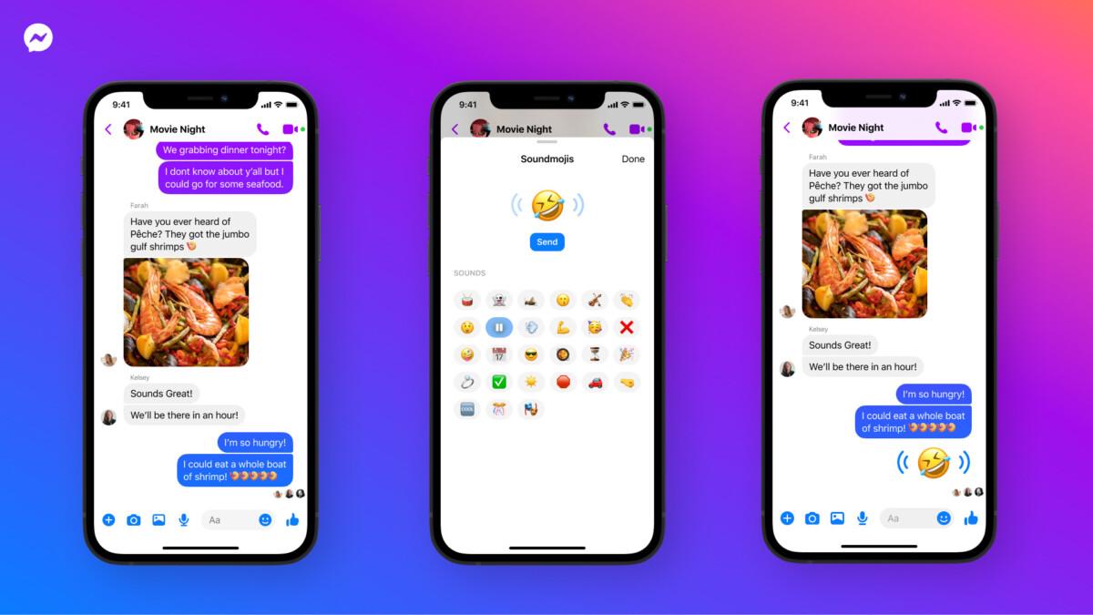 Soundmoji : vos conversations Facebook Messenger vont devenir bruyantes