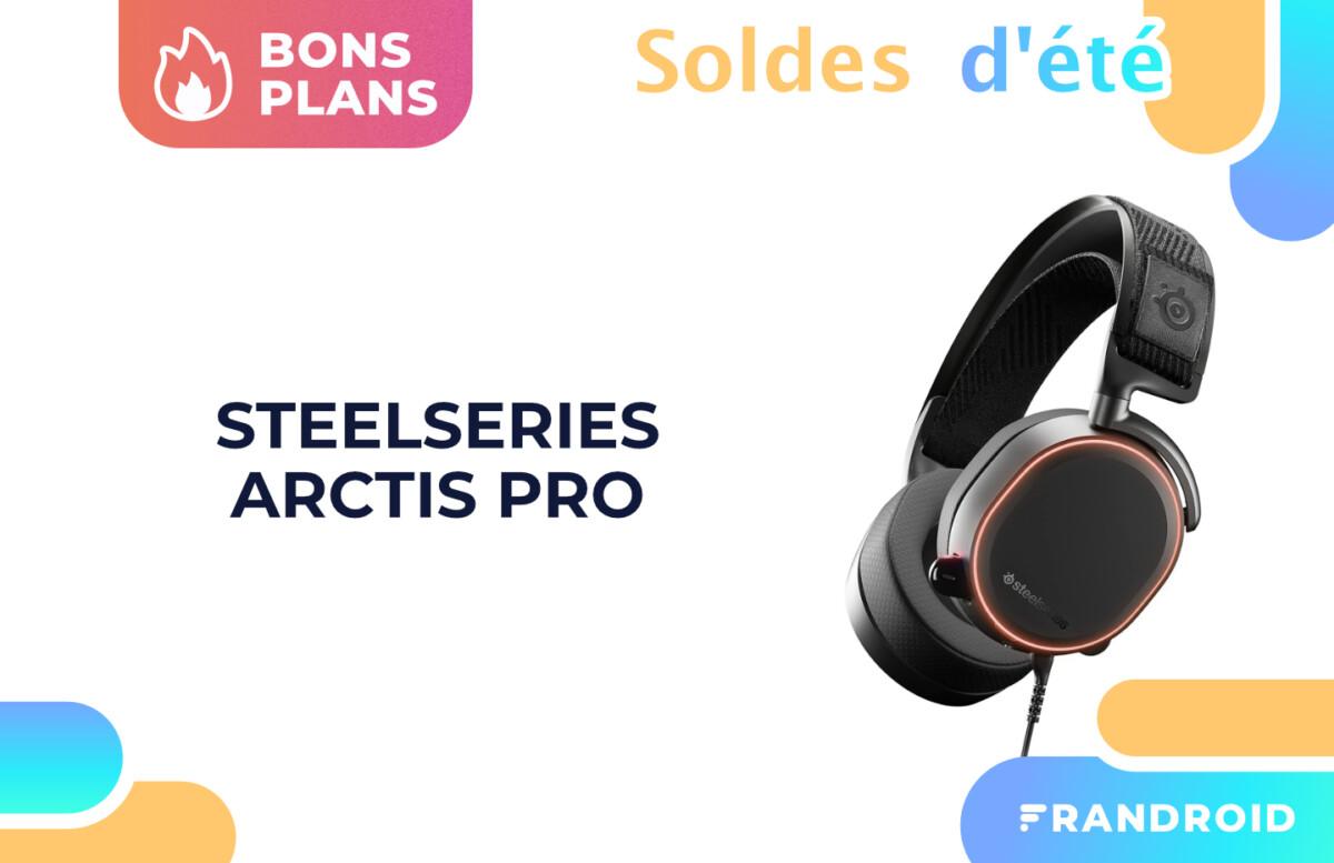 Le casque Arctis Pro de SteelSeries tombe sous les 140 € sur Amazon