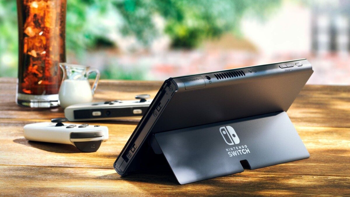 La nouvelle Nintendo Switch Oled