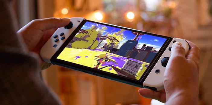 Les jeux promettent d'être plus beaux sur la Switch OLED