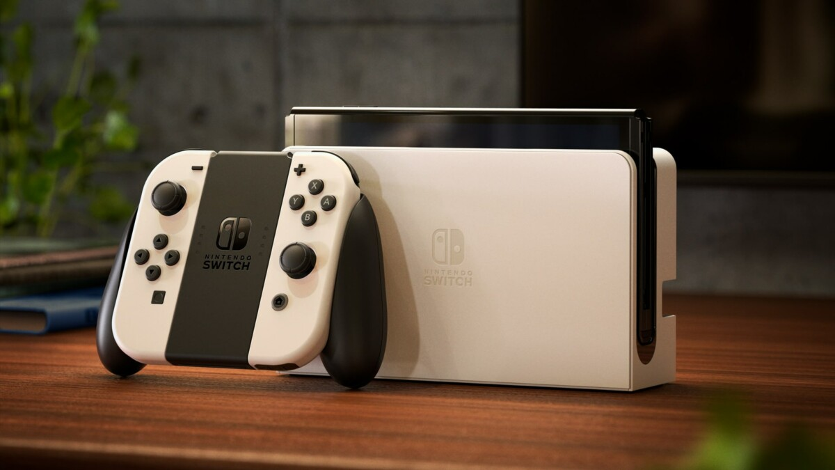 La Nintendo Switch Oled arrive en blanc