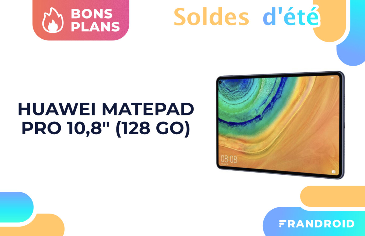 Huawei MatePad Pro : une tablette premium sous la barre des 400 euros