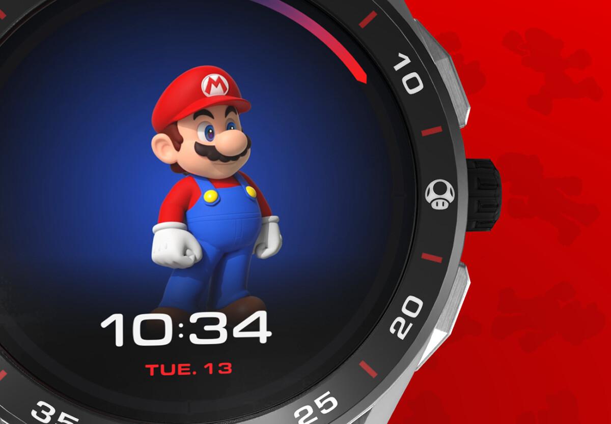 La montre Tag Heuer Super Mario Édition Limitée