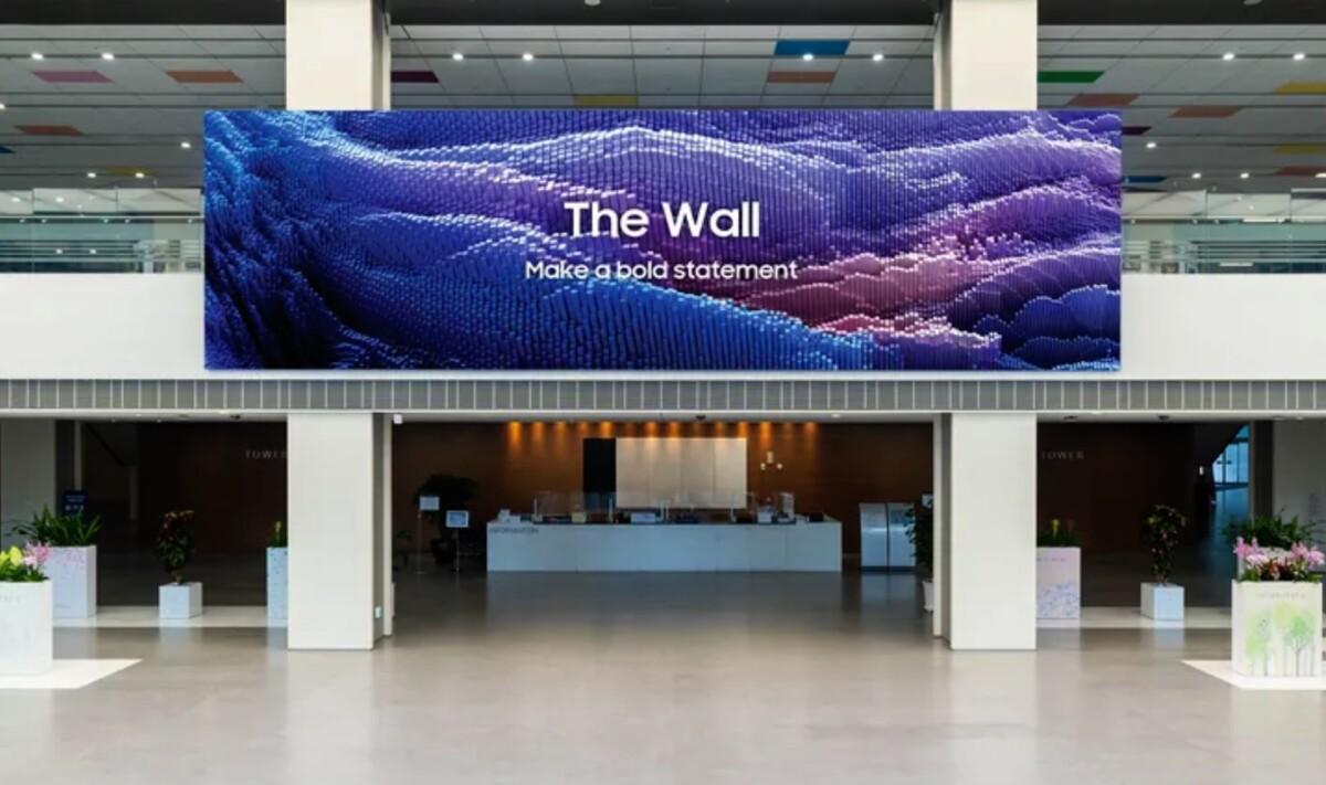 The Wall s'améliore grâce à l'arrivée de LEDs 40% plus petites… mais il est sous cette forme complètement hors de portée du grand public