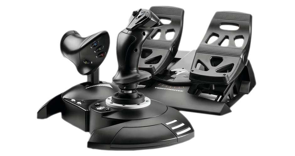 Le T.Flight Full Kit X pour jouer à Flight Simulator sur Xbox Series X et Series S