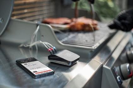 Le boîtier Weber Connect Smart Grilling Hub