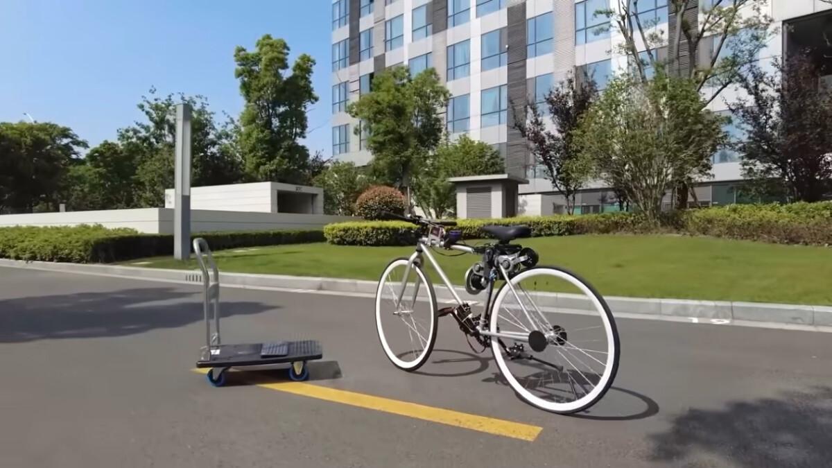 Huawei engineer develops autonomous bike