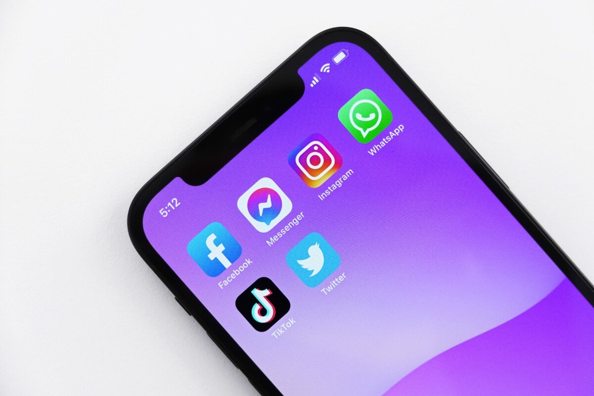 WhatsApp sur un iPhone