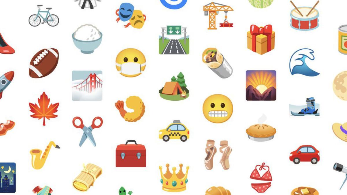 Les nouveaux emojis de Google pour Android 12