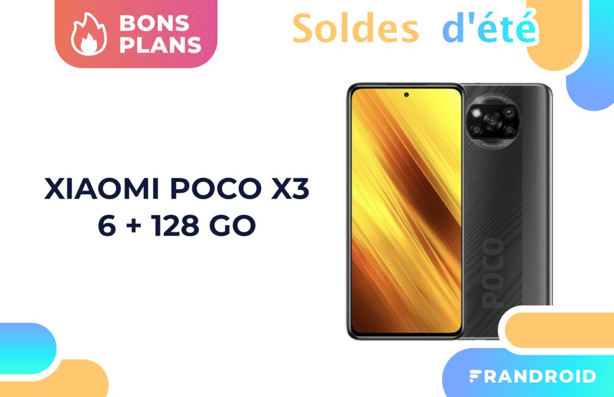 La version 128 Go du Xiaomi Poco X3 est soldée à seulement 159 euros