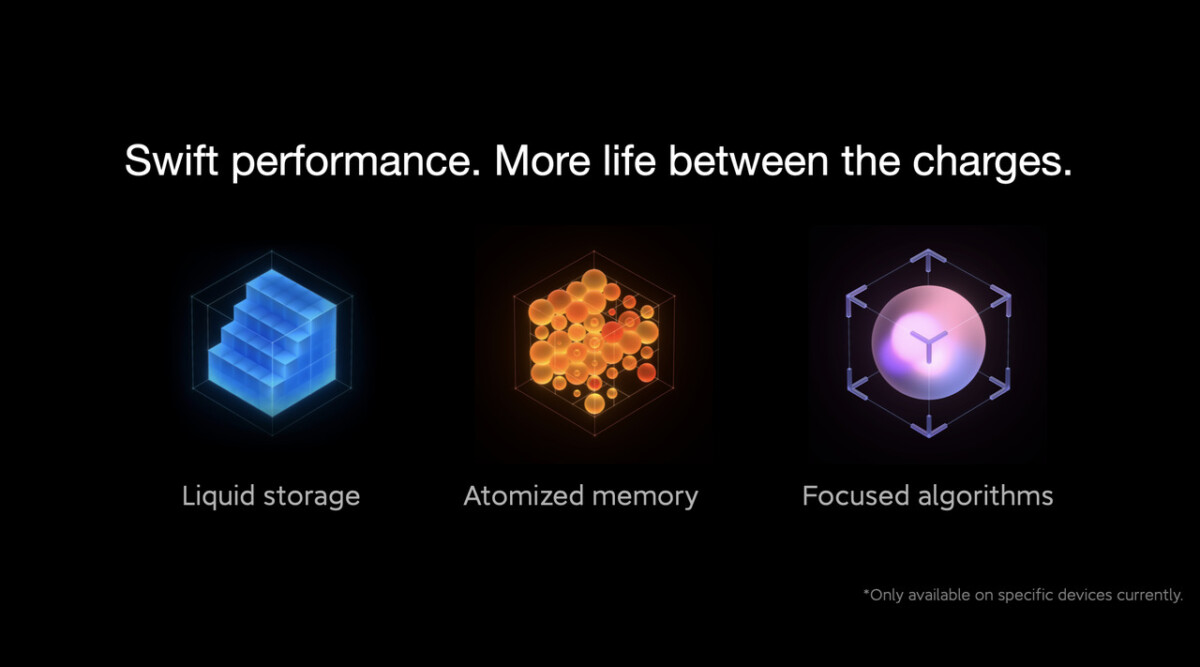 MIUI 12.5 Enchanced promises liquid storage and atomized memory.  Just that…