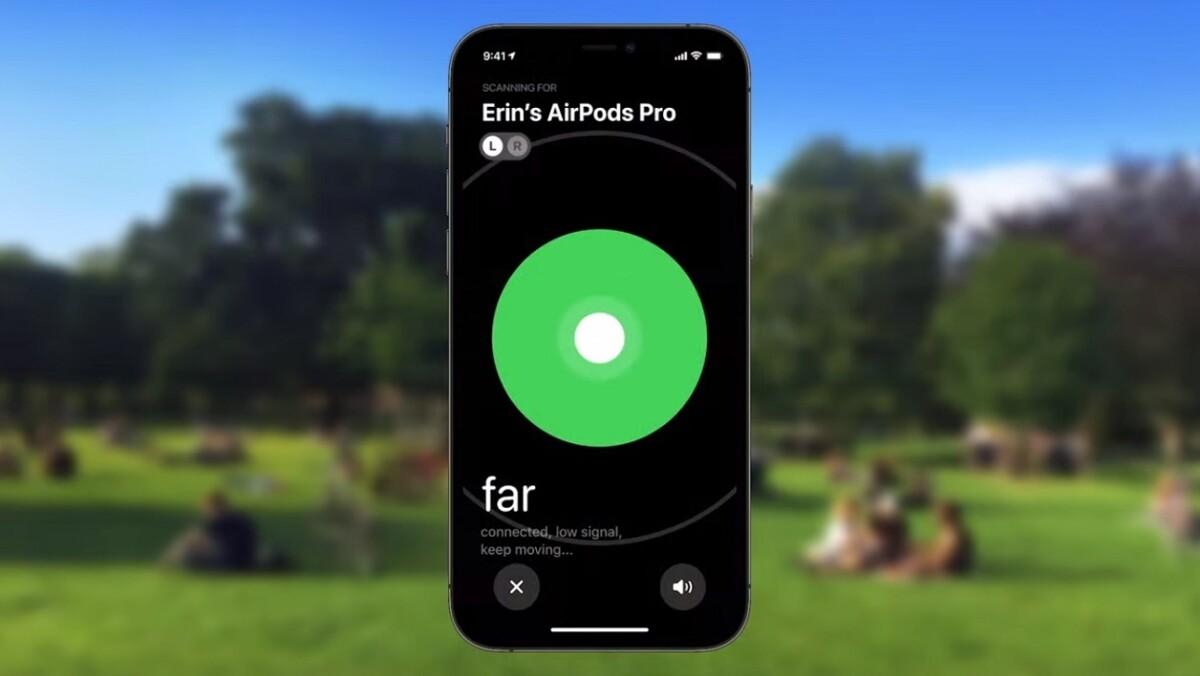 iOS15 va introduire quelques changements permettant de retrouver plus facilement des AirPods Pro ou Max égarés