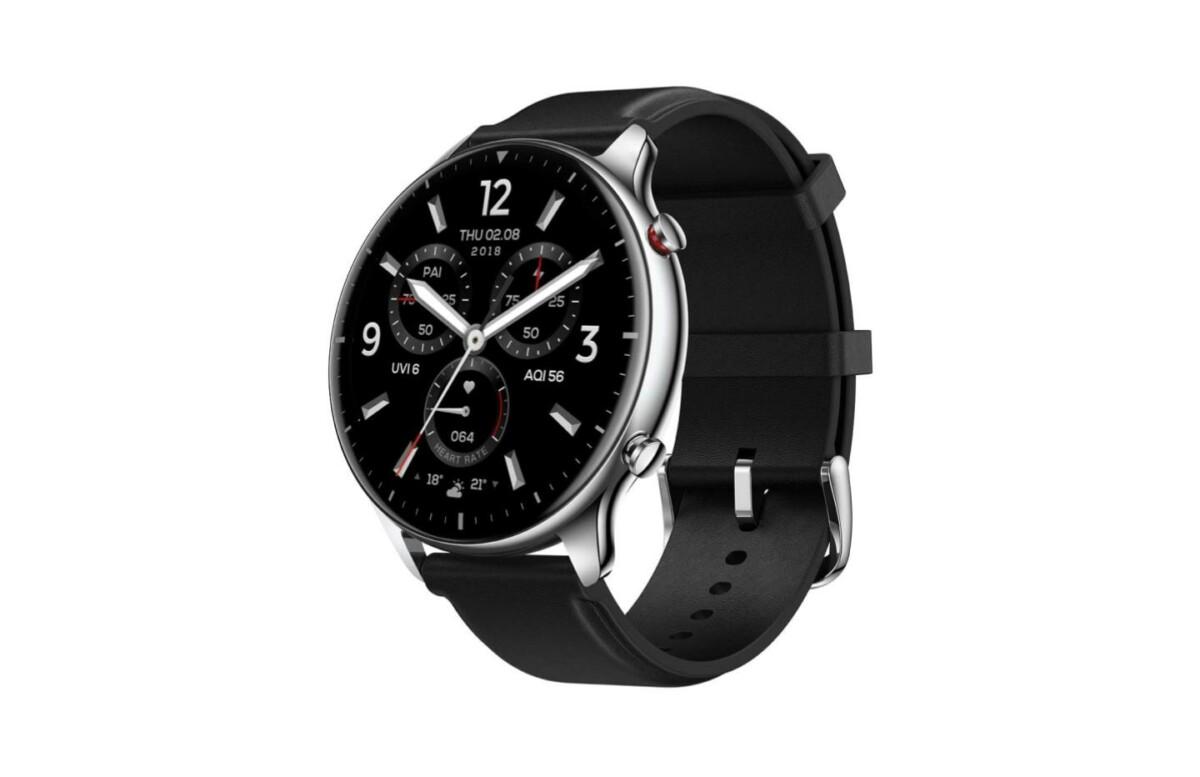 Amazfit GTR 2 : la montre connectée de 14 jours d'autonomie est à 143 € sur Amazon