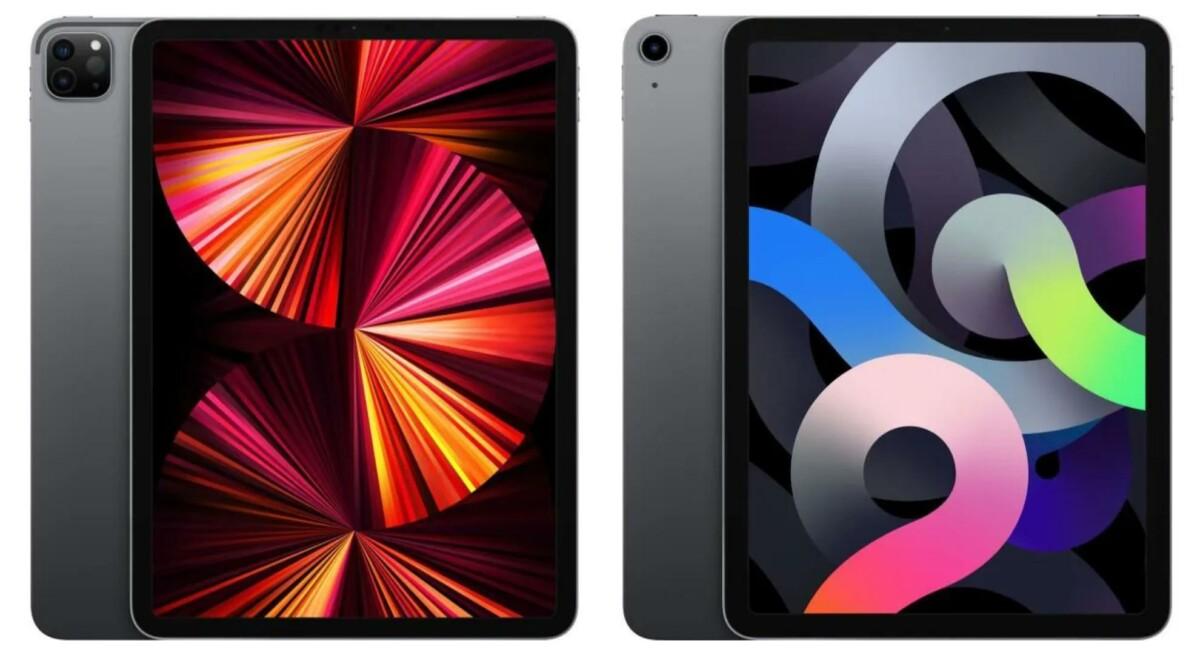 L'iPad Pro (2021) et l'iPad Air (2020) en promotion sur Cdiscount