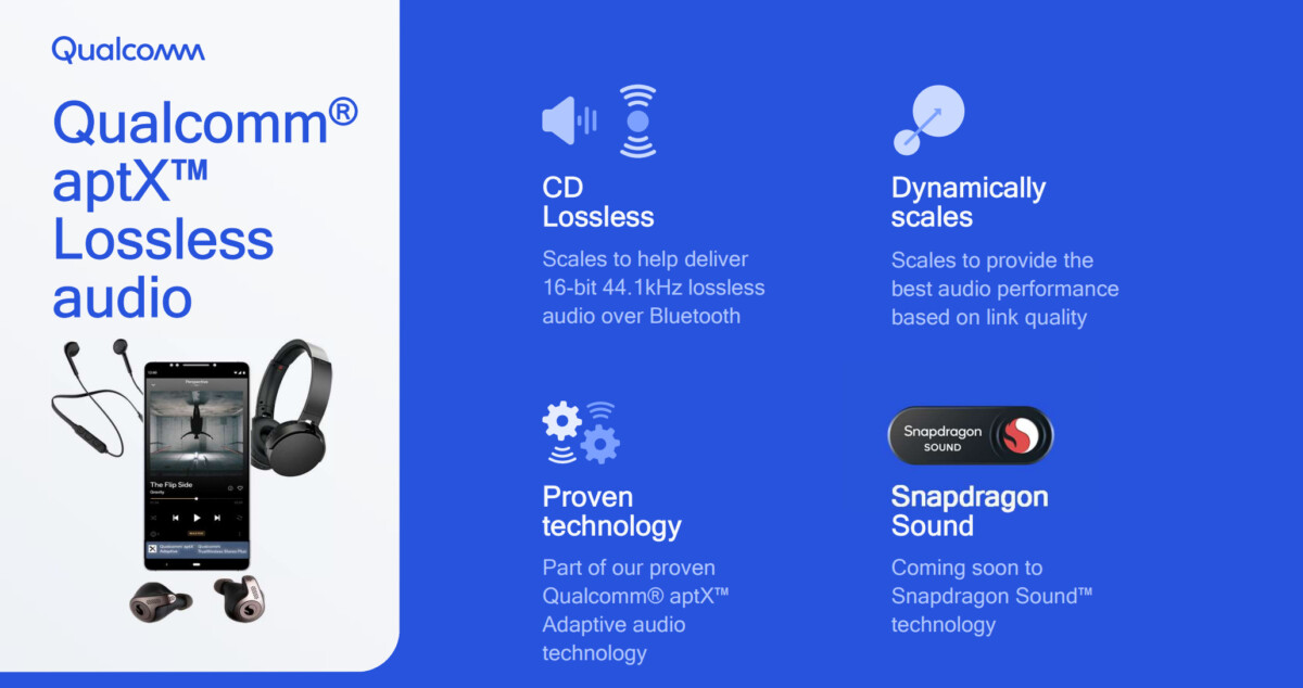 L'aptX Lossless veut proposer une qualité CD sur des casques Bluetooth
