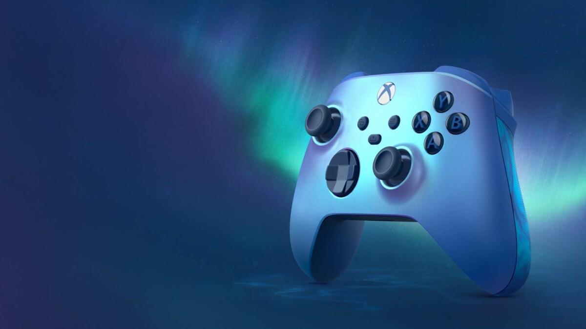 La nouvelle manette Xbox Aqua Shift