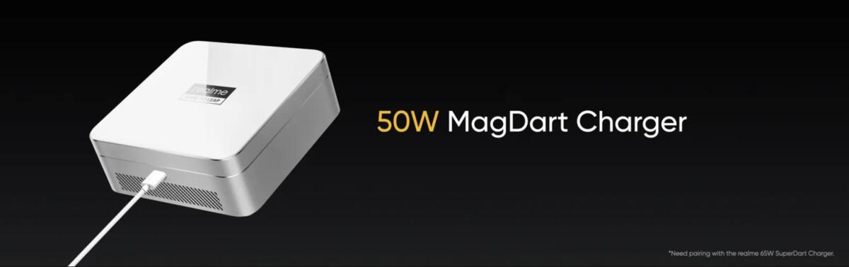 Le MagDart50W pour recharger magnétiquement et sans fil