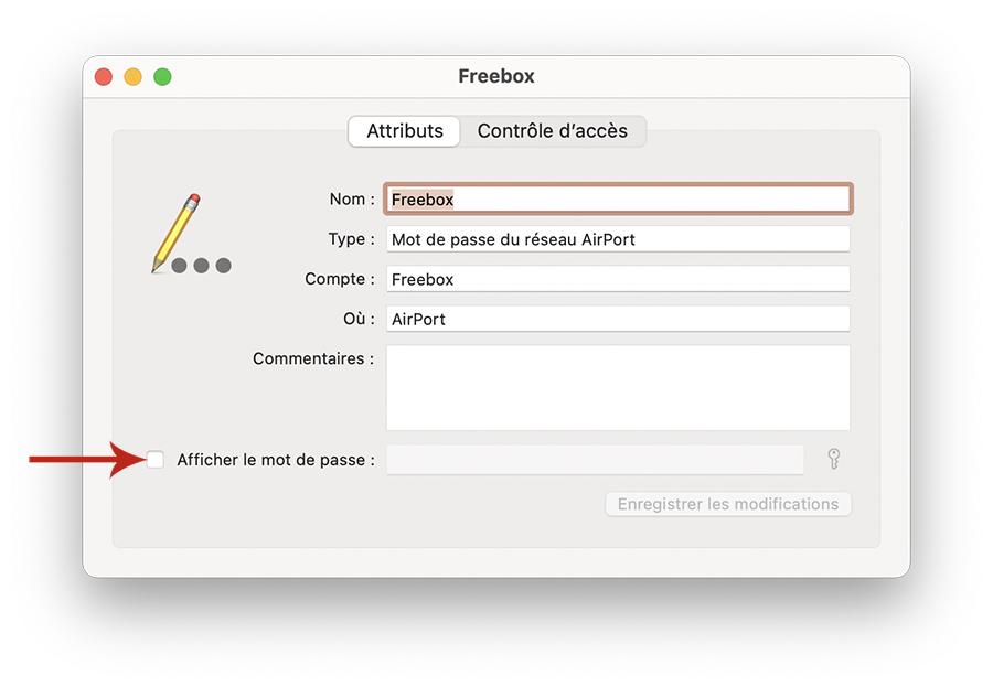 Comment trouver un mot de passe Wi-Fi enregistré sur Mac ?