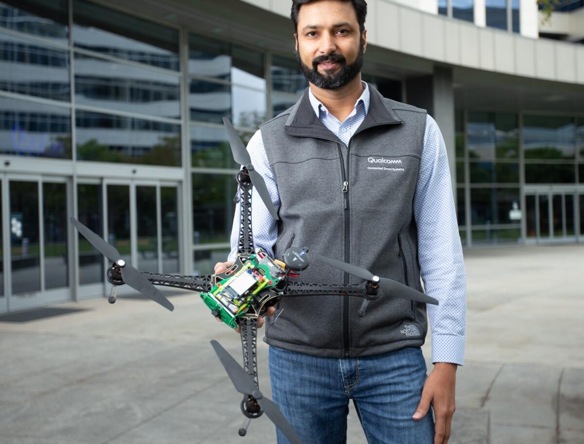 Dev Singh, responsable des drones chez Qualcomm