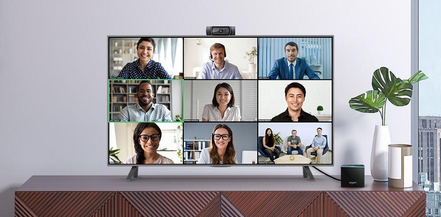 Zoom est disponible sur l'Amazon Fire TV Cube