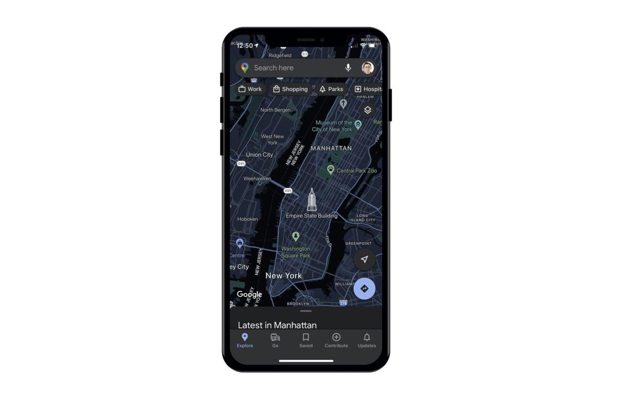 Google Maps pour iPhone récupère une fonction très attendue
