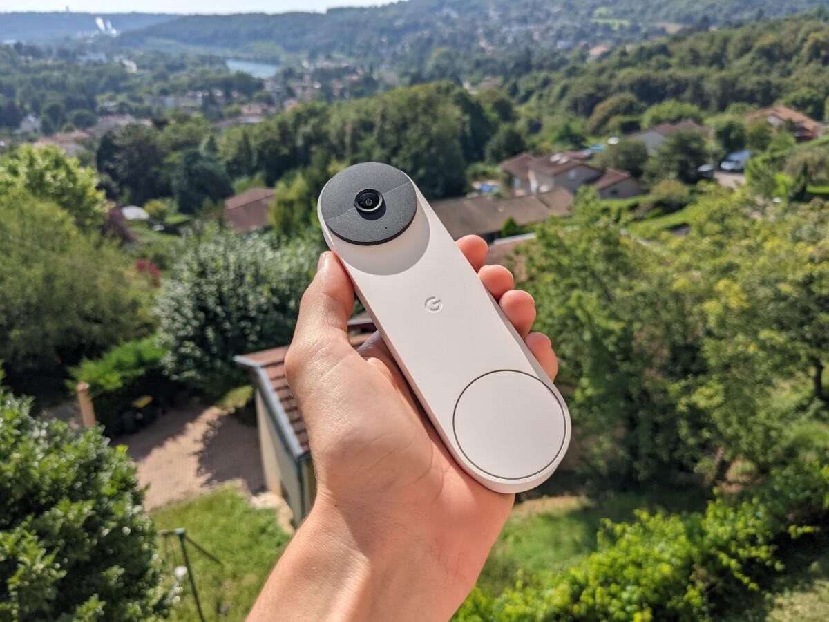La Google Nest Doorbell