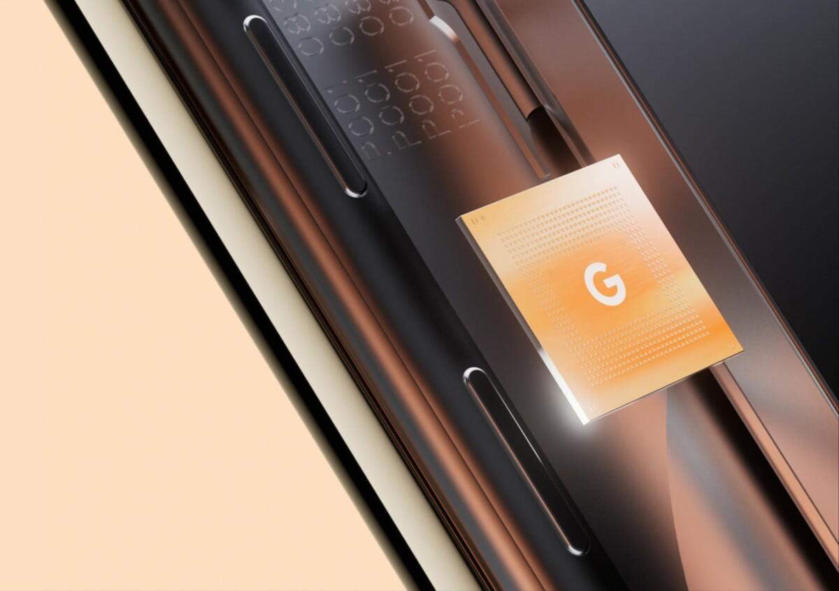 Puce Google Tensor